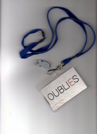 Badge OUBLI E S seul - Copie
