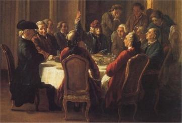 Procope Voltaire vaticine