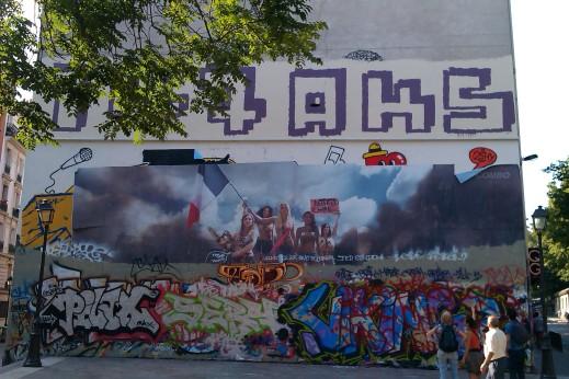 quai Jemmapes affiche féministe